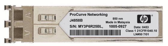 Трансивер HP X120 1G SFP LC LX JD119B кабель hp premier flex lc lc om4 2f 5m cbl qk734a