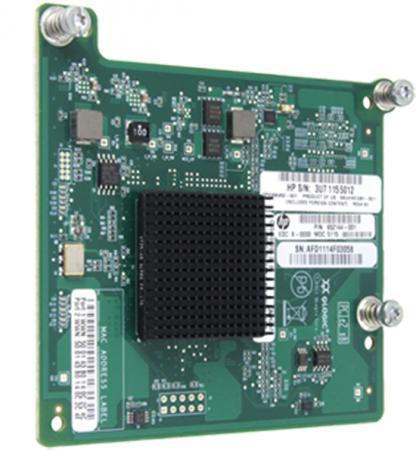 Плата коммуникационная HP Fibre Channel QMH2572 8Gb Adapter 651281-B21 плата коммуникационная hp ethernet 1gb 4p 366m adapter 615729 b21