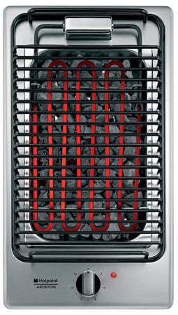 Варочная панель электрическая Ariston DK B (IX) серебристый встраиваемая электрическая варочная панель smeg si 5633 b