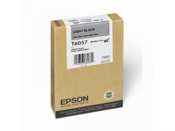 Картридж Epson C13T605700 для Stylus Pro 4880 серый