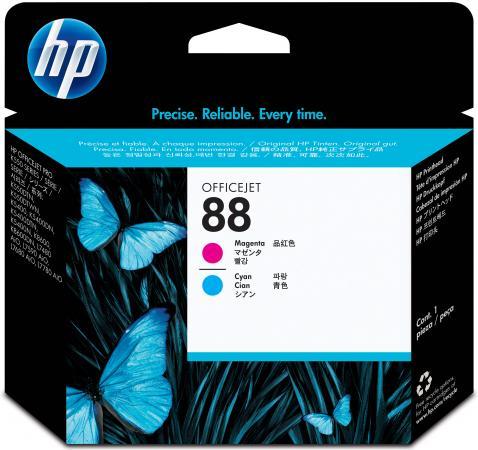 Печатающая головка HP C9382A для HP Officejet Pro K550/K5400/K8600 голубой пурпурный картридж hp c9381a 88 inkjet officejet pro k550 k550dtn k550dtwn печатующая головка черный желтый