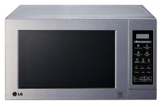 Микроволновая печь LG MH6044V 800 Вт серебристый