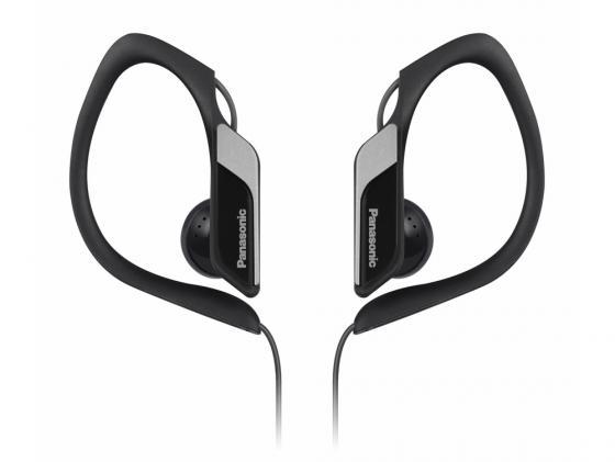Наушники Panasonic RP-HS34E-K 3.5мм черный panasonic rp hde3mgc k in ear earphone stereo sound headphones headset music earpieces with microphone earphones super bass