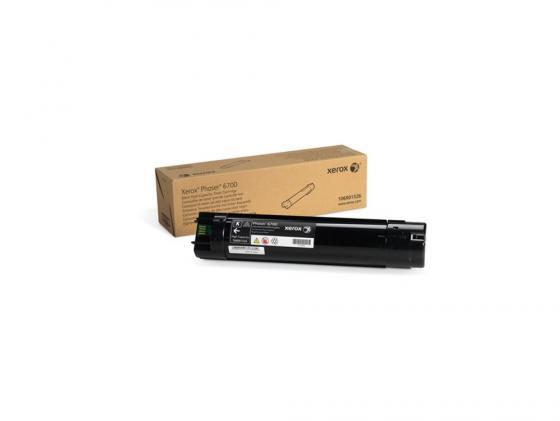 Тонер-Картридж Xerox 106R01526 для Phaser 6700 черный 18000стр картридж xerox 113r00692 phaser 6120 тонер картридж черный бол емкости