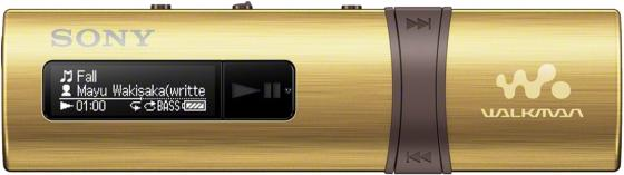 Плеер Sony NWZ-B183FN 4Гб золотистый sony nwz a15 16gb silver mp3 плеер