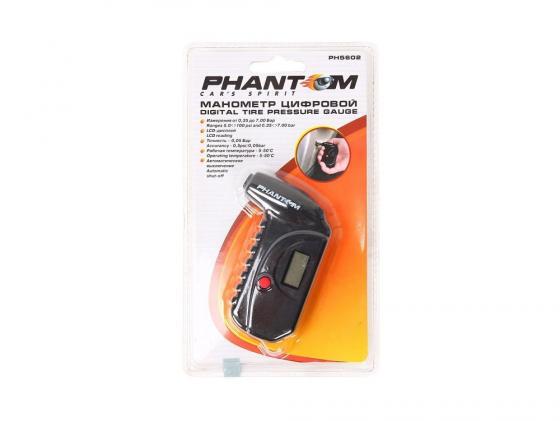 Манометр Phantom PH5602 цифровой 880100 манометр phantom ph5002 переносной