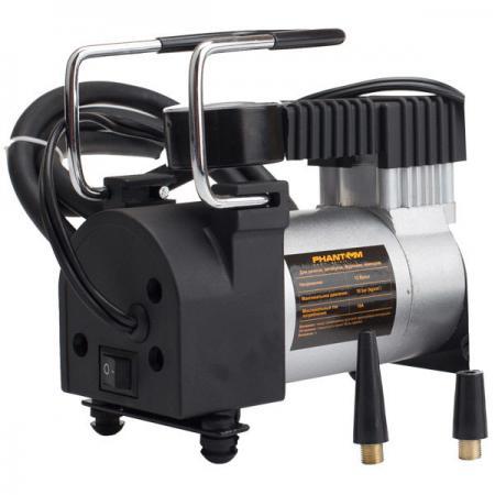 Автомобильный компрессор Phantom РН2023 120Вт 10А 35л/мин компрессор phantom рн2023
