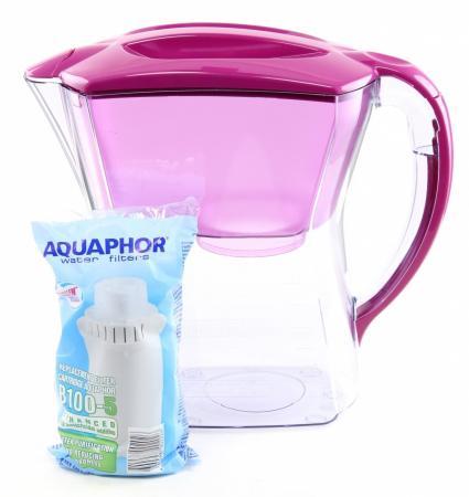 Фильтр для воды Аквафор ПРЕМИУМ кувшин цикламен -Р81В05N фильтры для воды аквафор премиум сирень дк