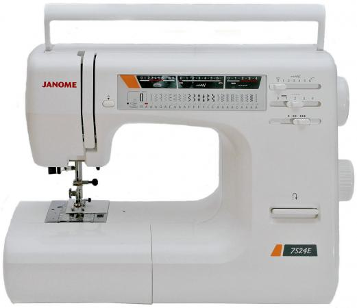 Швейная машина Janome 7524 E белый