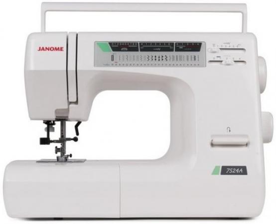 Швейная машина Janome 7524 A белый швейная машинка janome sew mini deluxe