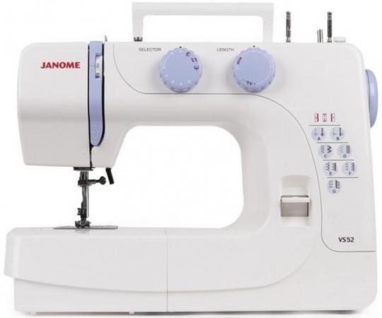 Швейная машина Janome VS52 серый цена и фото