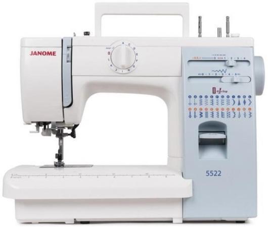 Швейная машина Janome 5522 белый швейная машина janome vs 54s белый