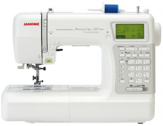 Швейная машина Janome Memory Craft 5200 белый  janome horizon memory craft 8200 qc