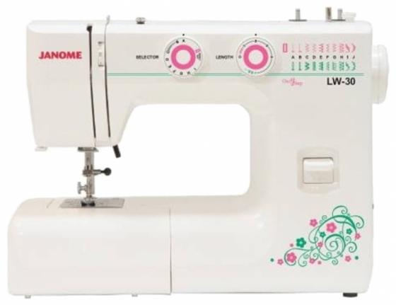 цена на Швейная машина Janome LW-30 белый