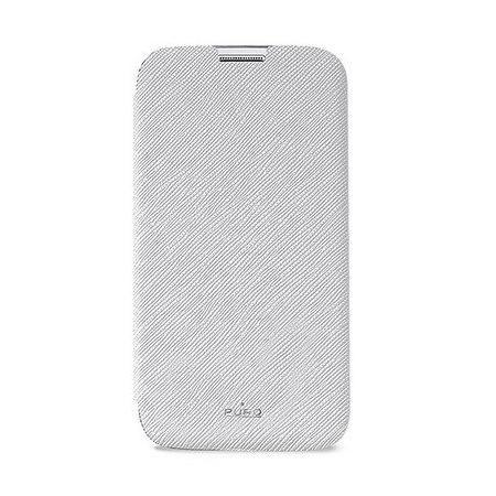 Чехол PURO для Galaxy S5 отделение для кредитных карт белый SGS5BOOKCWHI чехол для iphone 5c puro color clear cover белый ipccclearwhi