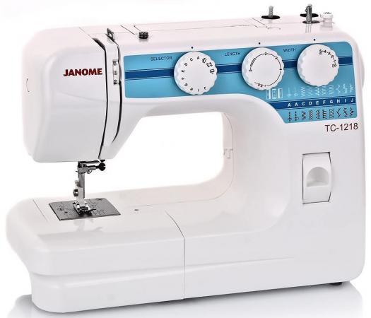 все цены на Швейная машина Janome TC 1218 белый онлайн