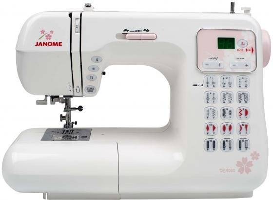 Швейная машина Janome DC4030 белый швейная машинка janome sew mini deluxe