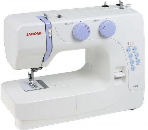 Швейная машина Janome VS50 белый цена 2017