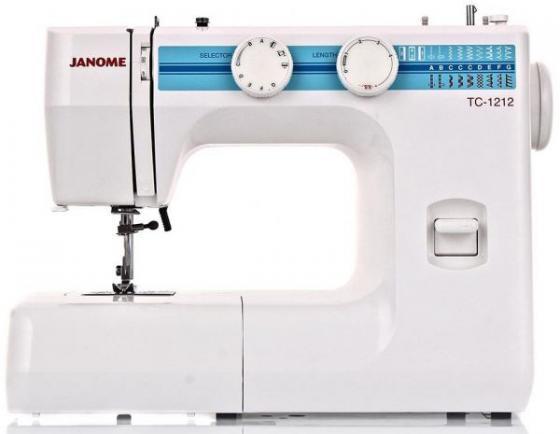 Швейная машина Janome TC 1212 белый швейная машинка janome dresscode