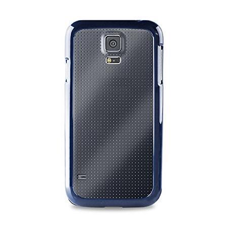 Чехол PURO для Galaxy S5 синий SGS5CLEARBLUE puro flag cover canada