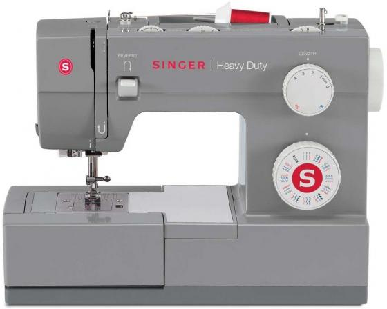 Швейная машина Singer Heavy Duty 4432 серый швейная машинка singer heavy duty 4411 серый