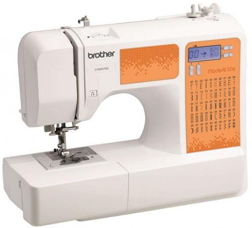 Швейная машина Brother ModerN 50E бело-оранжевый