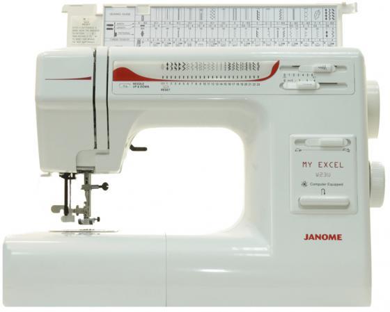 Швейная машина Janome W23U My Excel белый швейная машинка janome sew mini deluxe