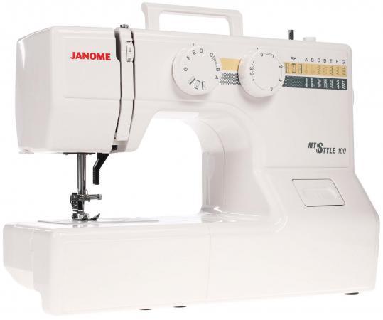 Швейная машина Janome 100 My Style белый швейная машинка janome sew mini deluxe