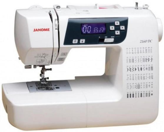 Швейная машина Janome 2160 DC белый цена и фото