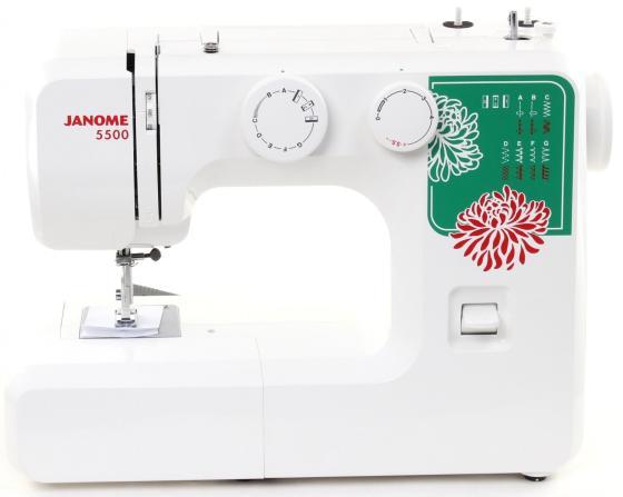 Швейная машина Janome 5500 белый цена