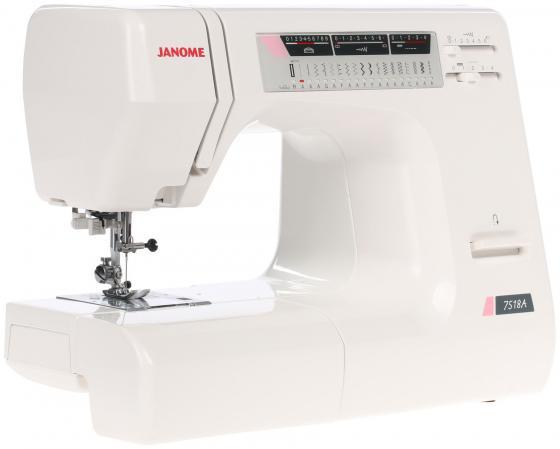 Швейная машина Janome 7518 A белый