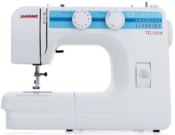 лучшая цена Швейная машина Janome TC 1214 белый