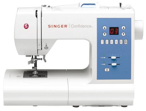 Швейная машина Singer Confidence 7465 белый швейная машина singer confidence 7470
