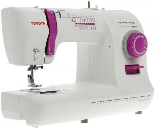 все цены на Швейная машина Toyota ECO 26A бело-розовый онлайн