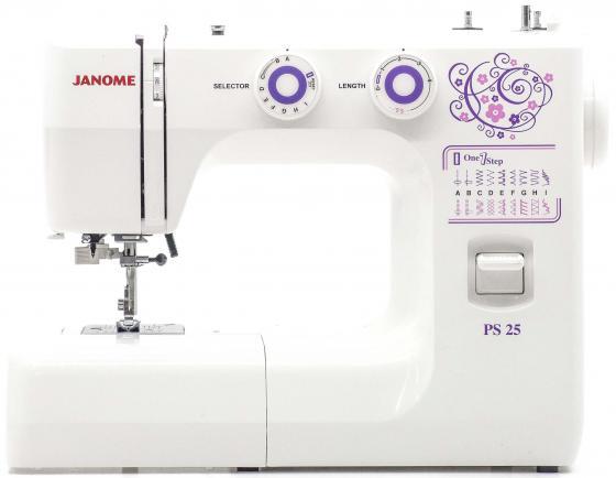 Швейная машина Janome PS-25 белый цена и фото