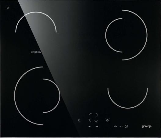 Варочная панель электрическая Gorenje ECT6SY2B черный варочная панель электрическая gorenje ect693orab черный