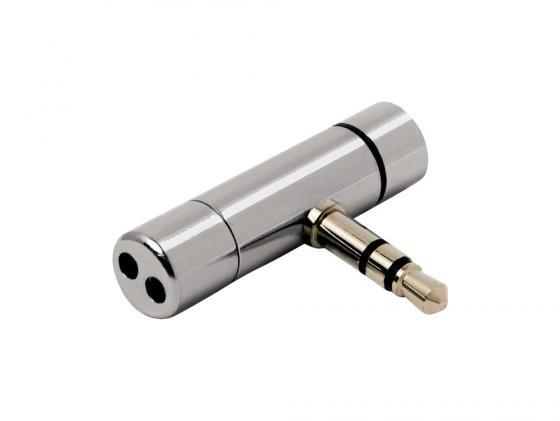Микрофон Hama H-57151 миниатюрный для ноутбука 32x8мм 3.5мм Jack серебристый