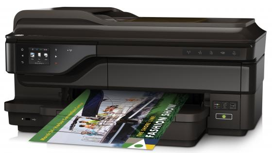 МФУ HP OfficeJet 7612 G1X85A цветное A3 15ppm 600x1200dpi Wi-Fi Ethernet USB мфу hp officejet 7612