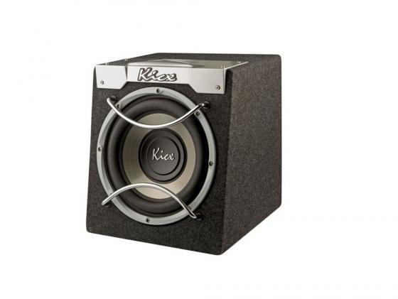 Сабвуфер Kicx ICQ-250BA динамик 10 25см 200-400Вт 4Ом kicx icq 250ba