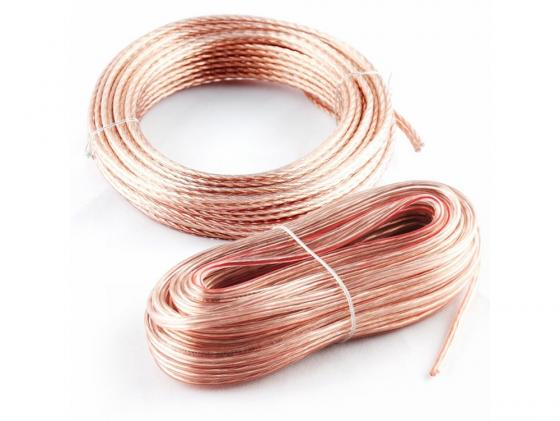 Акустический кабель Kicx SCC-1812 18AWG 12м прозрачный цена
