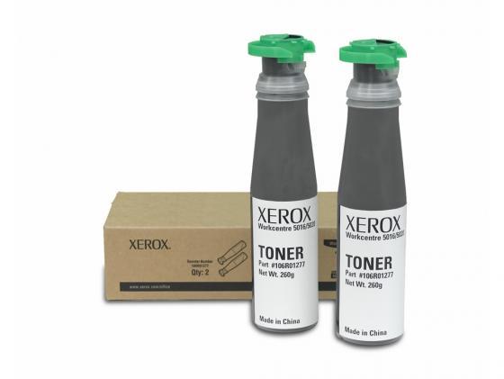 Тонер-картридж Xerox 106R01277 для WC 5016/5020 черный 2шт бутербродница bomann st 5016