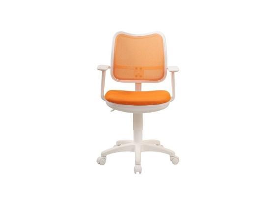 Кресло Buro CH-W797/OR/TW-96-1 спинка сетка оранжевый сиденье оранжевый TW-96-1 пластик белый ch w797 or giraffe