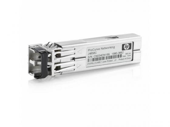 Трансивер HP ProCurve Gigabit-SX-LC Mini-GBIC J4858C кабель hp premier flex lc lc om4 2f 5m cbl qk734a