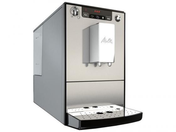 Кофеварка Melitta Е 950-103 серебристый кофеварка melitta е 953 102 серебристый черный