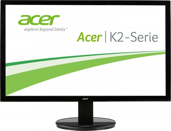 Монитор 24 Acer K242HLbd черный TFT-TN 1920x1080 250 cd/m^2 5 ms DVI VGA монитор 21 5 asus ve228tlb черный tft tn 1920x1080 250 cd m^2 5 ms dvi vga аудио usb