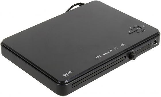 Проигрыватель DVD BBK DVP033S темно-серый проигрыватель dvd bbk dvp953hd