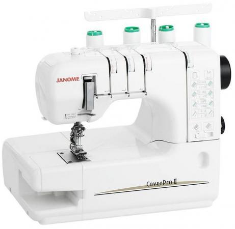Швейная машина Janome Cover Pro 2 белый