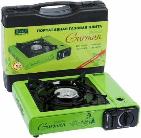 Плита портативная CW Gurman зелёный чёрный cw 150e