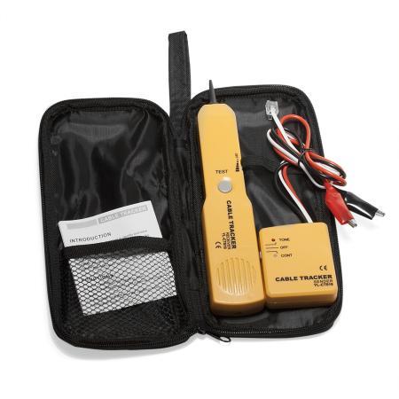 Тестовый набор Lanmaster LAN-TPK-50 тональный генератор и индуктивный щуп инструмент щуп