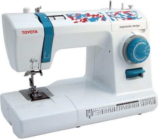 все цены на Швейная машина Toyota ECO 34C бело-синий онлайн